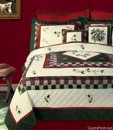Holiday Greens Quilt