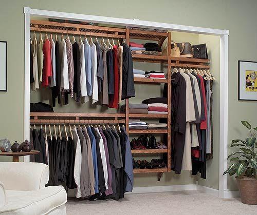 Simple Modern Closet Decorating Design Ideas