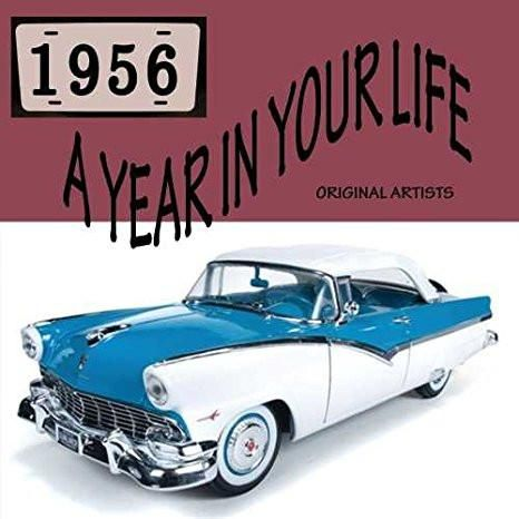 Various Artists & The Platters & Little Richard & Pat Boone & Fats Domino & Teresa Brewer : A Year In Your Life 1956 [2 CD]