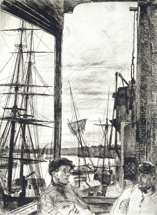 Rotherhithe, James Abbott McNeill Whistler