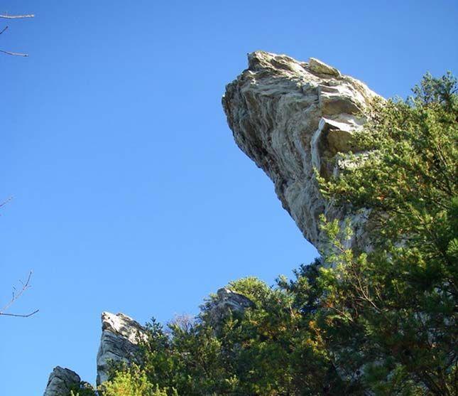 Hanging Rock Állami park, Észak-Karolina, Amerikai Egyesült Államok