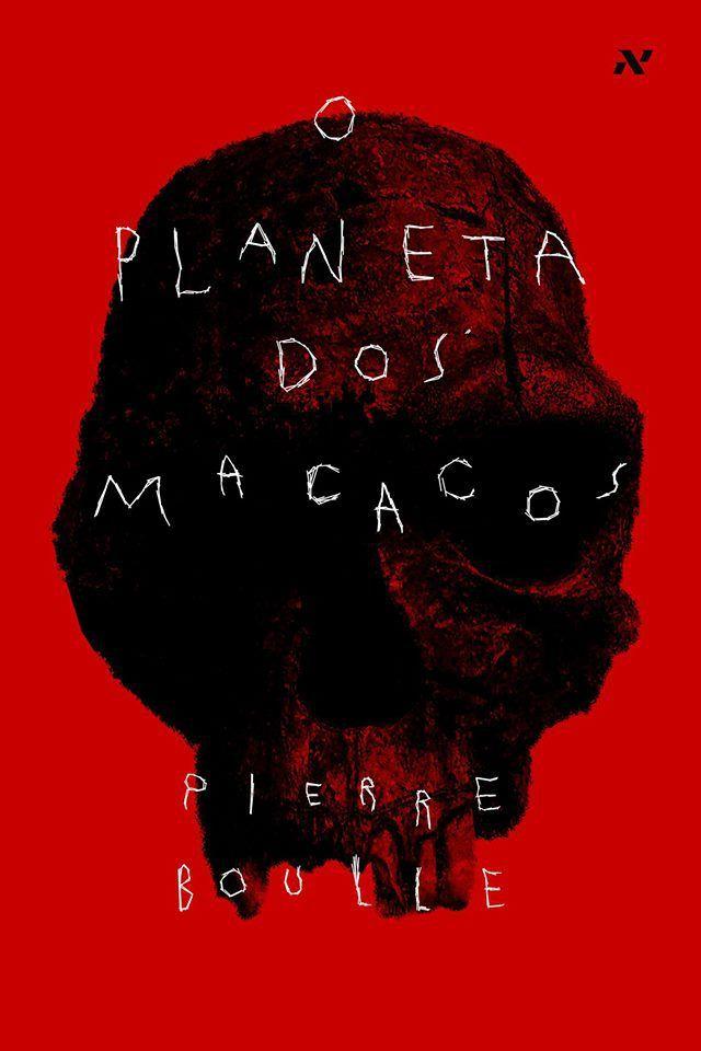 Cover do livro Planeta dos Macacos pela editora Aleph