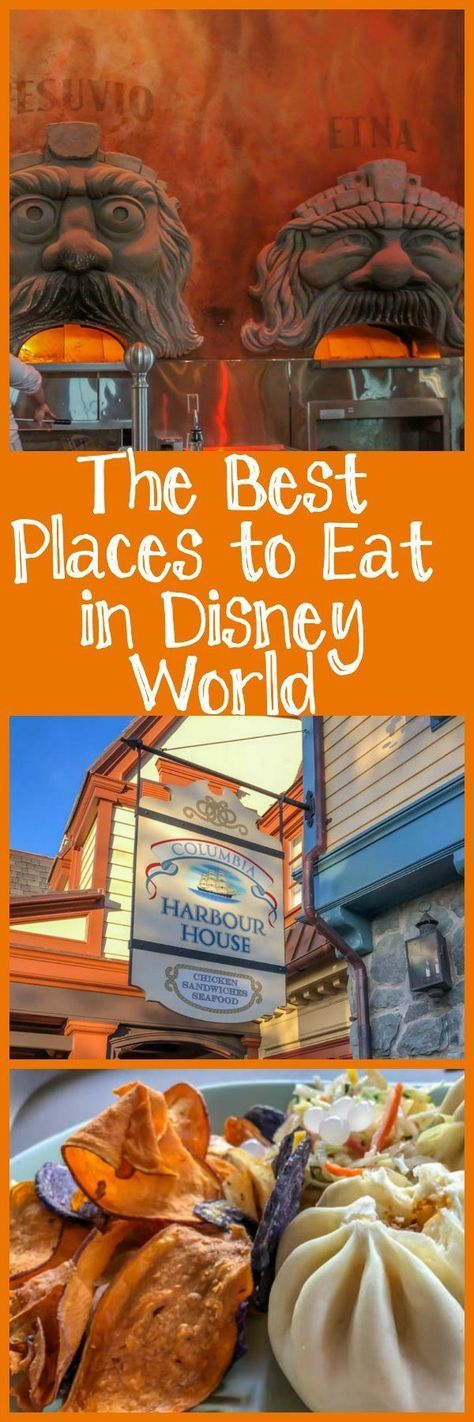 The Best Places to Eat in Disney World - Family Travel Magazine (some were experienced at no cost) #familytravel #disney