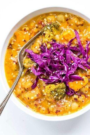 Coconut Quinoa Curry | 23 Instant Pot Recipes If You're Vegetarian or Vegan