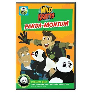 Reviewed By Mom: Wild Kratts Panda-Monium...Review & Giveaway!