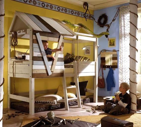 Kids Bedroom Tree House 40 best treehouse beds images on pinterest | children, tree house