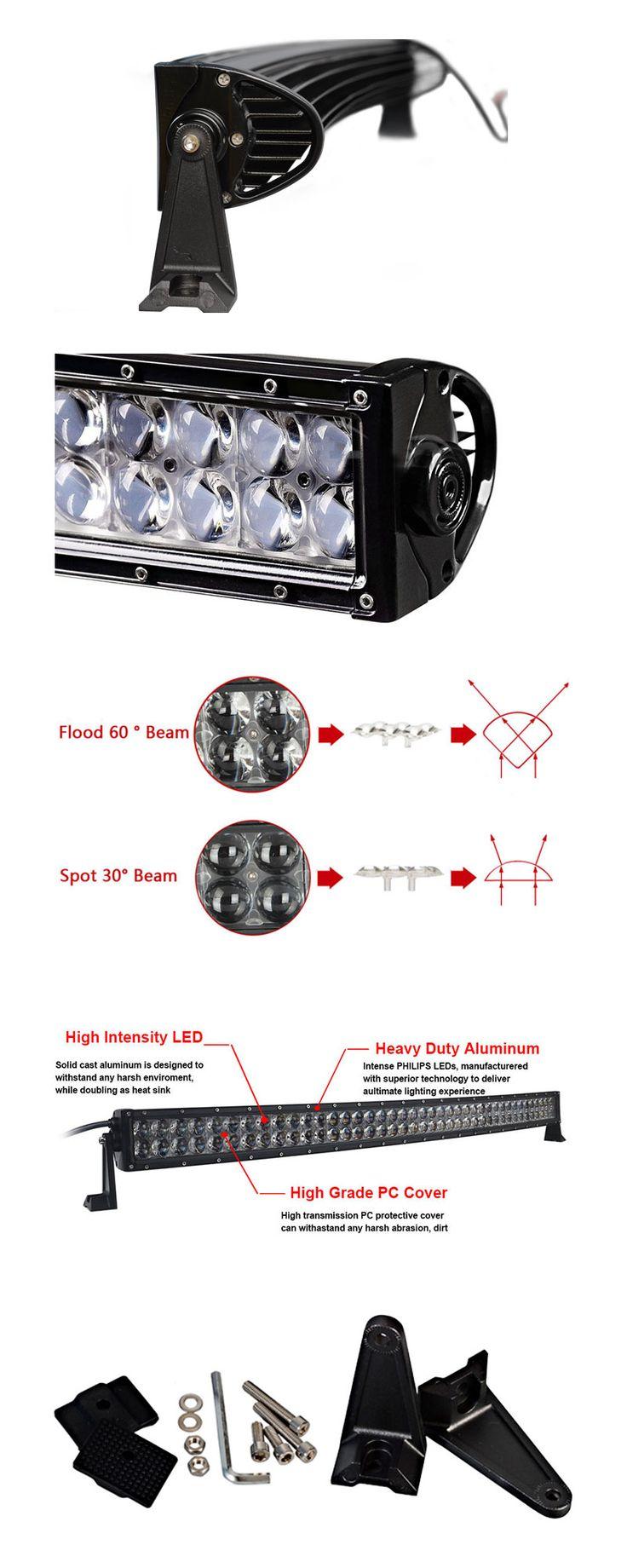 8 best 4D LED Light Bars for Jeep images on Pinterest   Led light ...