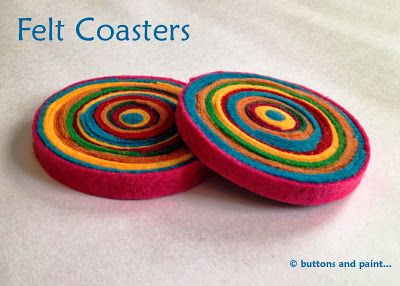 ... and some Felt Coasters