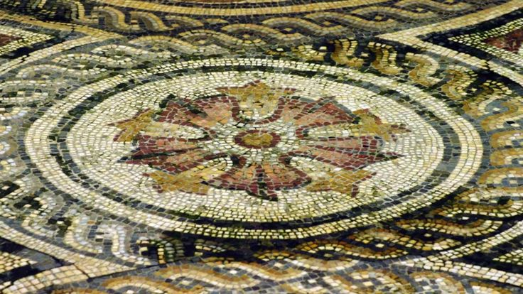 Fotos de: Sevilla - Casa Palacio de la Condesa de Lebrija - Mosaico romano