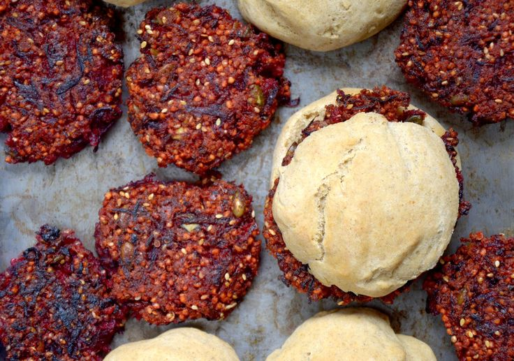 maja skorupska: wegańskie burgery buraczane i Jadłonomia