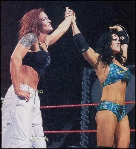 Judgement Day Chyna (c) vs Lita For WWE Women's Champion winner & Still Retain Women's Champion: Chyna