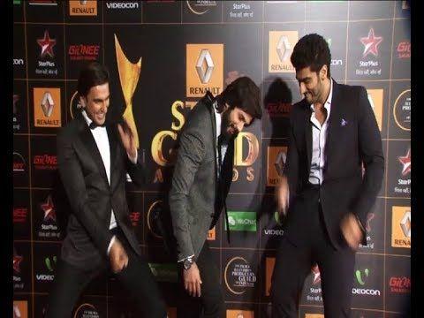 Shahid kapoor does TATTAD TATTAD   Ranveer Singh Arjun Kapoor does GHANDI BAAT.