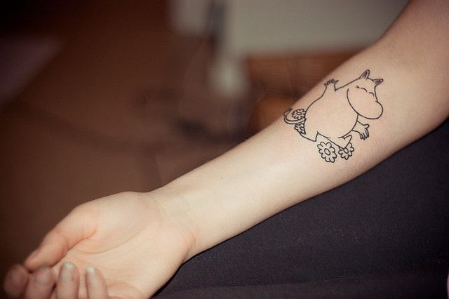 My mumin tattoo | Flickr - Photo Sharing!