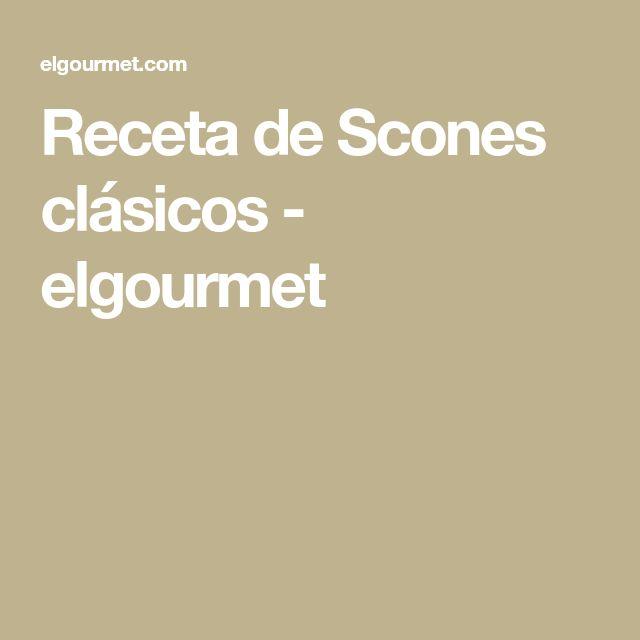 Receta de Scones clásicos - elgourmet