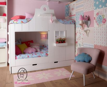 Kinderbed Klokhuis in het Wit