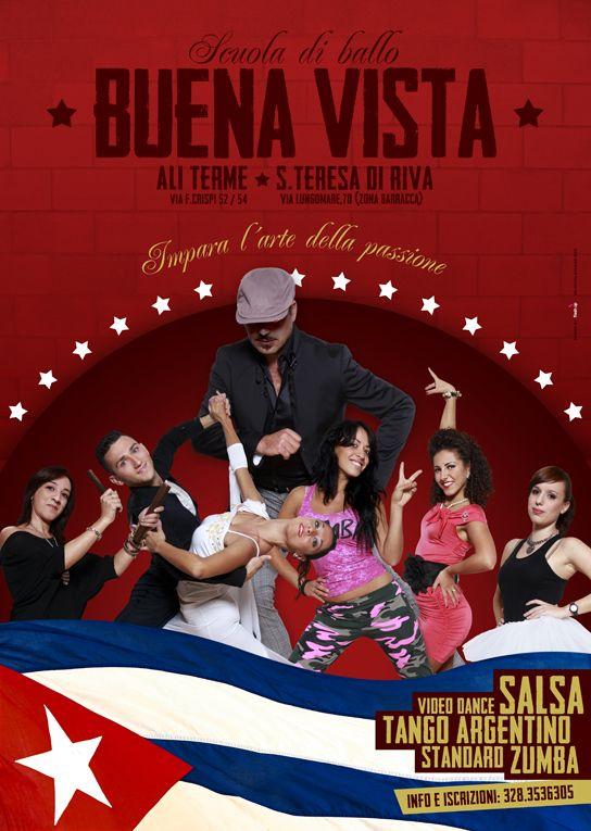 Scuola di Ballo Buena Vista. Adv by FLASH UP. Please visit: www.facebook.com/flashupxx #advertising #adv #photoshop #flashupdesign #concept #ambiente #scuoladiballo #dance #buenavista #rgb #cmyk #pantone #graphicdesign #design #grafica #graphic
