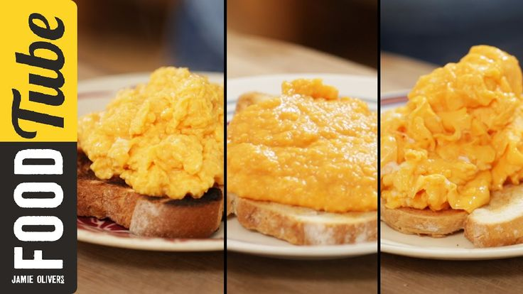How To Make Perfect Scrambled Eggs - 3 ways  Never tried the French water bath before, learned something new