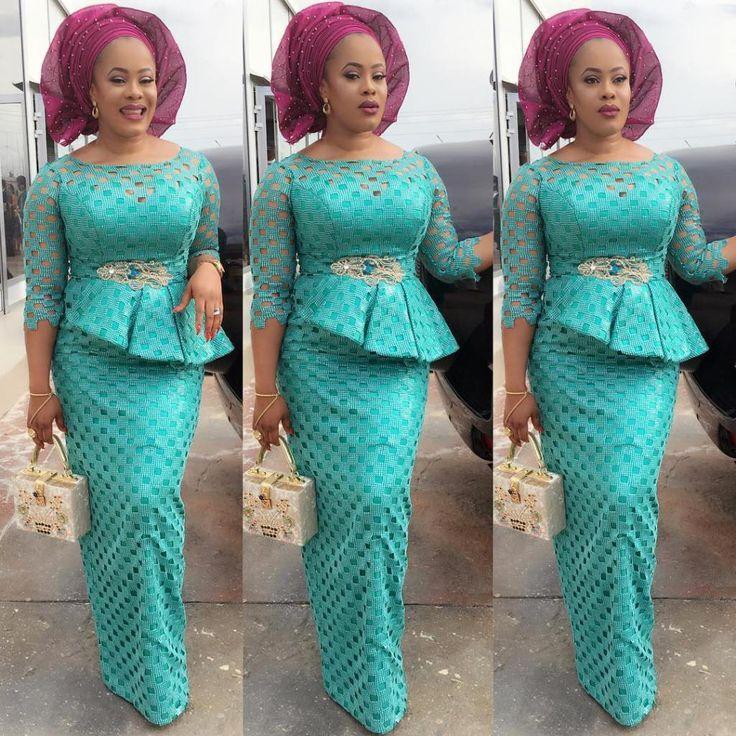 """Résultat de recherche d'images pour """"robe dentelle nigeriane"""""""