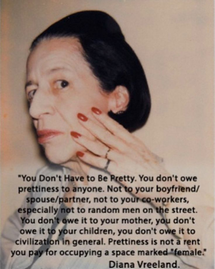 to women everywhere.  go + be free  | Diana Vreeland | via ninasubhas on instragram