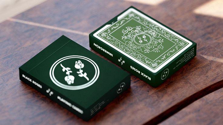 Kickstarter: Black Roses Immergrün Playing Cards by Daniel Schnieder