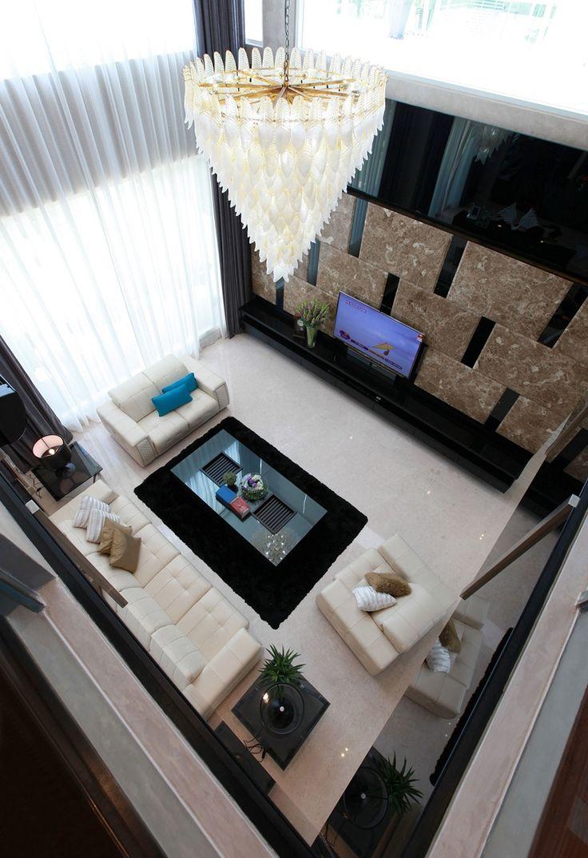 Award winning house at kk nagar chennai designed by ansari architects - Spacious And Luxurious Living Area Design By Tdi House Renovations