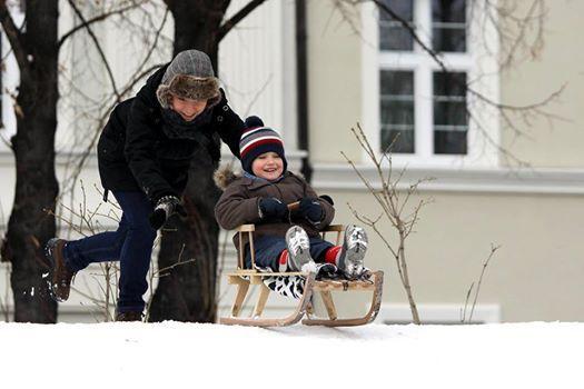 Zima, zima, zima (fot. A. Ziaja/arch. UM Gliwice)