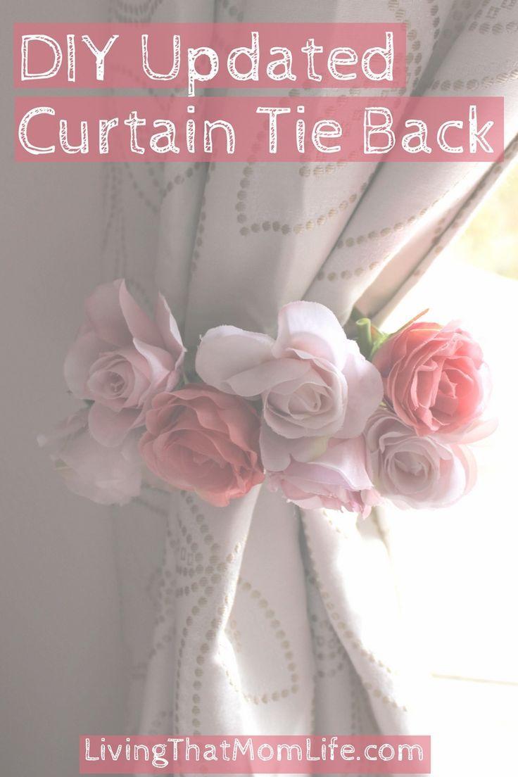 Curtains For Baby Girl Nursery: Best 25+ Curtain Ties Ideas On Pinterest
