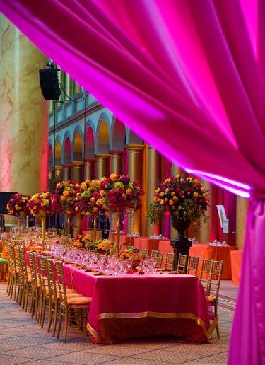 """Colors of India"" wedding by David Tutera"