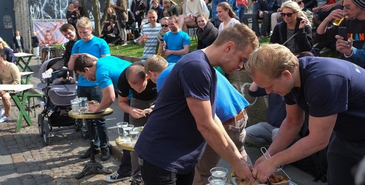 Ufattelig meget mad hos Haute Friture i Graven i Århus
