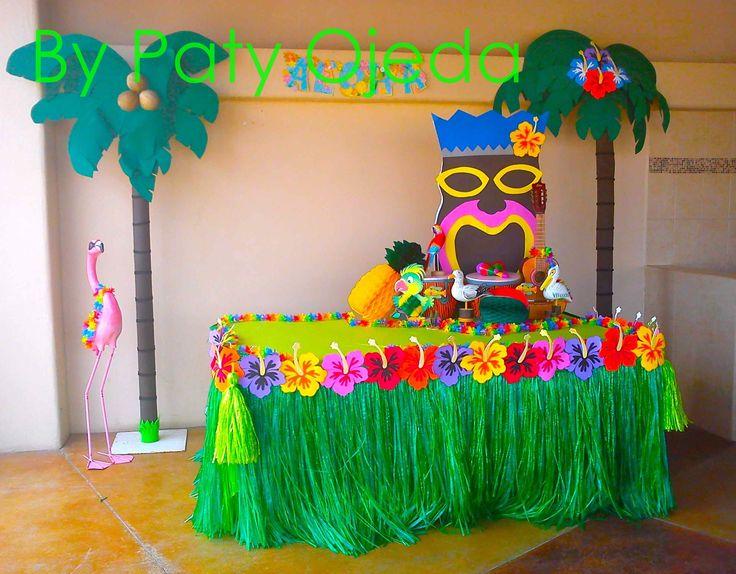 17 mejores ideas sobre Fiestas Infantiles Hawaianas en Pinterest ...