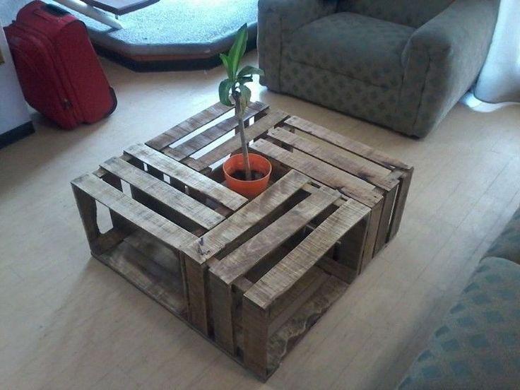 muebles con huacales de madera - Buscar con Google
