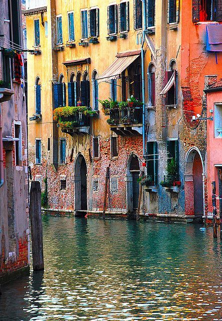 Colors of #Venice. #Italy #Travel