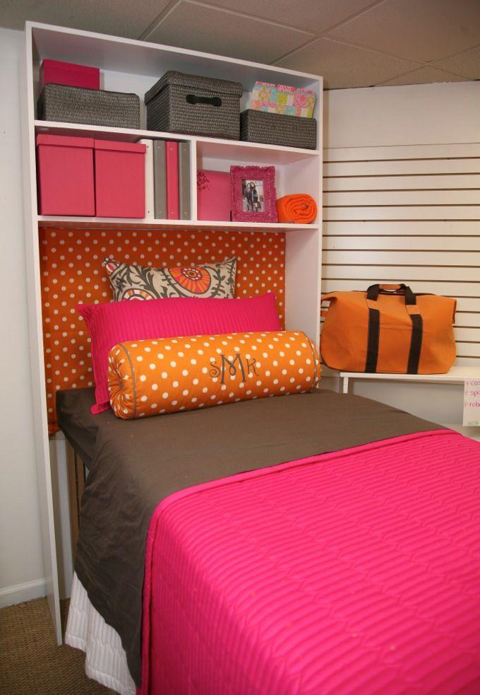 Decorating Ideas > Bed Cubby  Dorm  Pinterest ~ 233542_Dorm Room Shelf Ideas