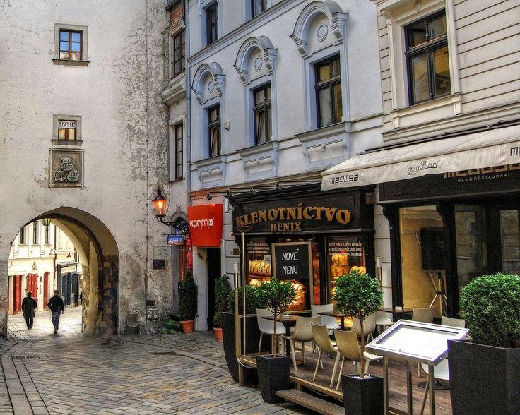 Perfect Sidewalk Cafe Bratislava Slovakia