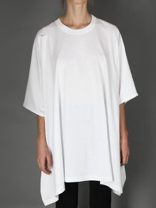 squared oversize t-shirt with round neck