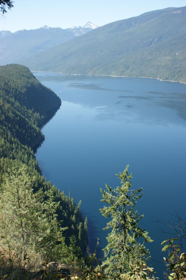 Slocan lake, British Columbia, Canada   Via Jon Dujmovich
