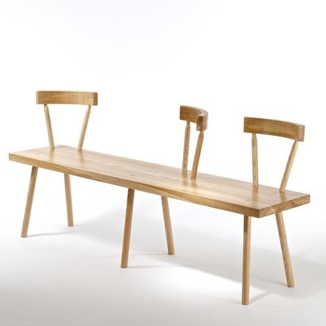 Gitta Gschwendtner Talks About Designing In East London And Her Bodge Bench  For The Stepney Green Design Collection Curated By Dezeen. Photo