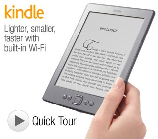 "Digital readers. This is the Kindle Wi-fi 6""E Ink Display"
