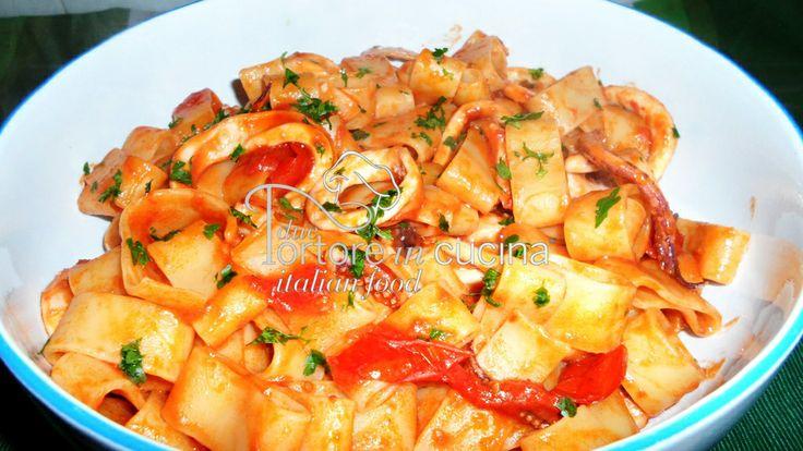 Calamarata  La ricetta qui: http://www.duetortoreincucina.com/it/recipes/first-course/italiano-calamarata/