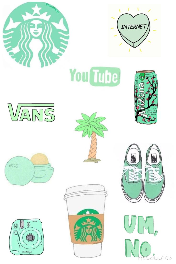 Mint tumblr overlays wallpaper made by Brigit Mejia
