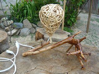 Veioza rustica | Ciudatenii Rustice - Poze mobilier rustic de interior sau exterior, produse de artizanat,