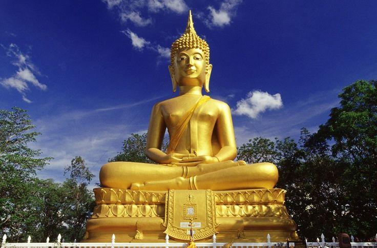 Thailand-golden-buddha