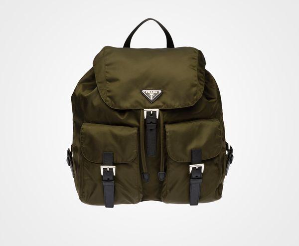 Prada backpack in burgundy (B2811l_ask_f0403-1) | My Style ...
