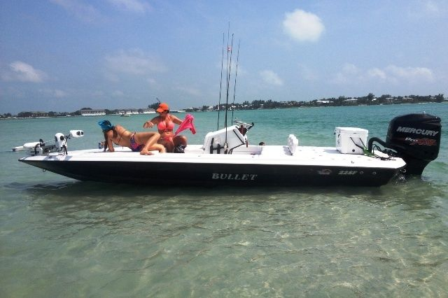 bullet boats | New 2014 Bullet 22' Flats Boat