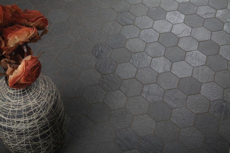 Large Hexagon Porcelain Floor Tile, Hexagon Series Everstone Tile product / Ceramic / Porcelain