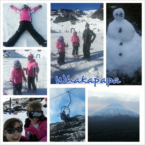 Awesome time skiing!  #skiing #NewZealand #fun #holidays