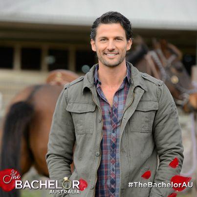 Looking gorgeous in his farm gear! #TheBachelorAU Watch them on the farm: http://tenplay.com.au/channel-ten/the-bachelor/extra/season-1/down-on-the-farm