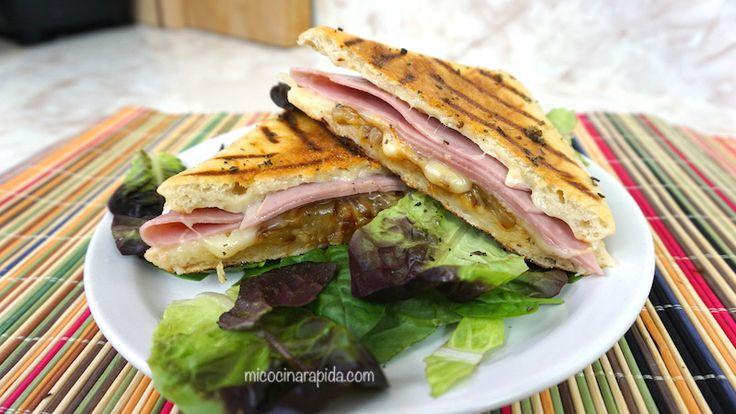 Mi Cocina Rápida: Sándwich Hawaiano - Jamón y Piña