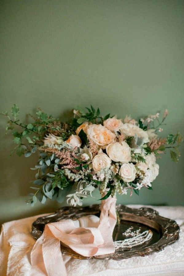 Peach Cocktails for a Spring Garden Wedding | Elisa B Photography | See More! http://heyweddinglady.com/down-the-garden-path-a-forest-green-and-peach-wedding/