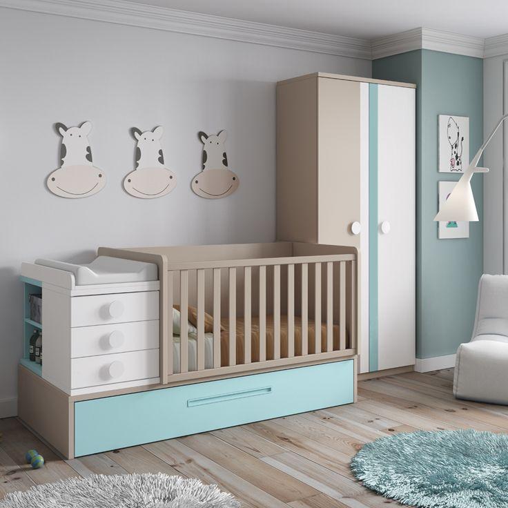 Pin de daicar mobel en dormitorios juveniles baby for Muebles daicar